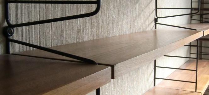 ruempelstilzchen boden 30 x 39cm string regal system nisse strinning teak. Black Bedroom Furniture Sets. Home Design Ideas