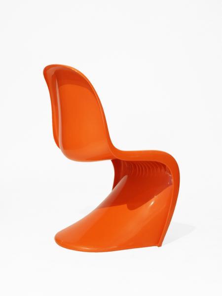 Panton Chair | Herman Miller | Orange